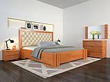 Ліжко дерево Амбер двоспальне 160 (Арбор) з підйомним механізмом, фото 6