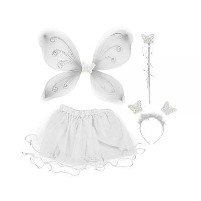 Карнавальный костюм Волшебная бабочка (белый)