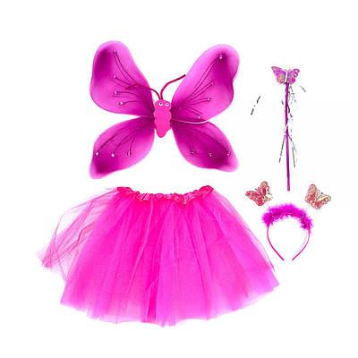 Карнавальный костюм Бабочка (малиновый)