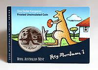 Монета Австралии 1 доллар 2008 г. В упаковке