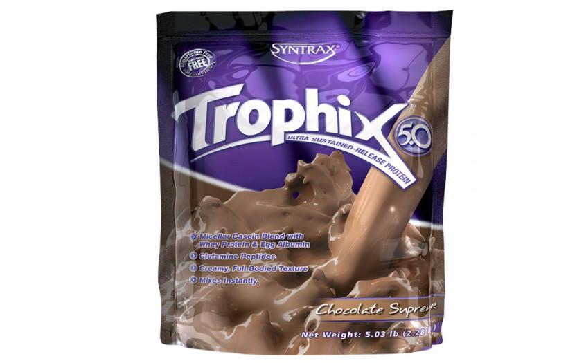 Протеин Syntrax Trophix 2.27 kg. (КЛУБНИКА)