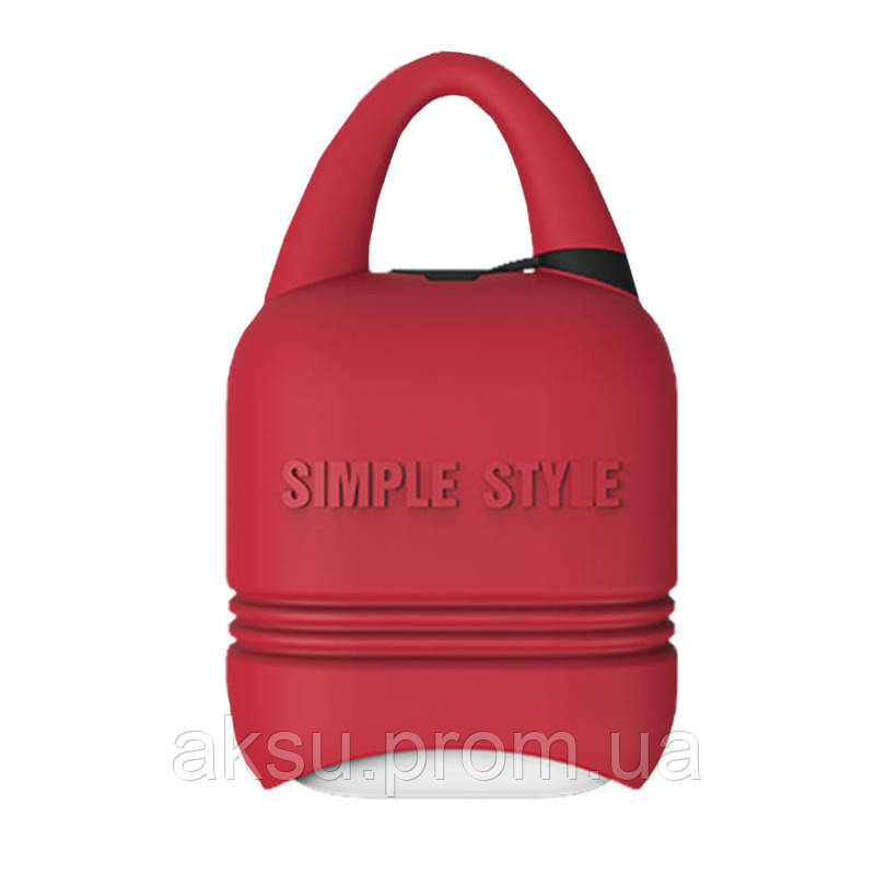 Чехол для беспроводных наушников Apple AirPods I-smile (Red)