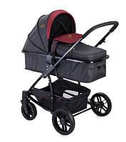 Детская коляска Универсальная трансформер +  автокресло S-500 SET BLACK&RED 10020851733