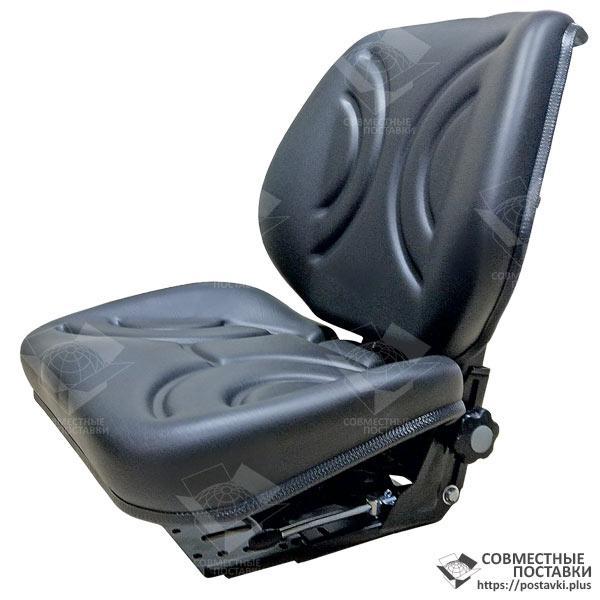 Сиденье тракторное универсальное улучшенное, кресло с регулировкой веса водителя (Турция)
