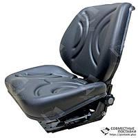 Сиденье тракторное универсальное улучшенное, кресло с регулировкой веса водителя (Турция), фото 1