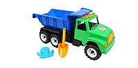 Детская машина грузовик с лопаткой для песка