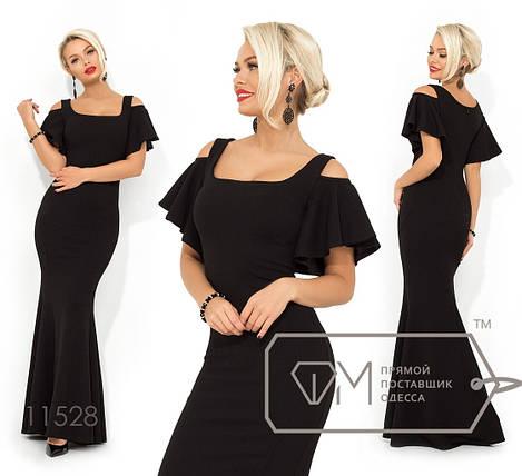 a56d8db9cd8f774 Купить Однотонное вечернее платье оптом и в розницу в Одессе от ...