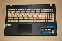Верхняя часть под клавиатуру Top Case ноутбука ASUS X552MJ с тачпадом (13NB03VBP06014)