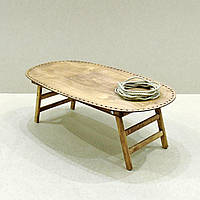 Столик-поднос для завтрака Вайоминг мускат (не прошнурованный)