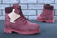Женские зимние ботинки Timberland с натуральным мехом (37, 38, 39, 40, 41 размеры)