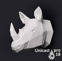 Белый модельный пластик Unicast pro18 полиуретан. Уникаст 18 Про. Уп-ка 450 г.