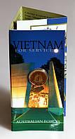 Монета Австралии 1 доллар 2003 г. Ветераны войны во Вьетнаме. В упаковке