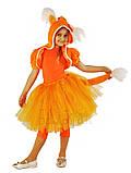 Детский карнавальный костюм для девочки  Лисичка 110-140р, фото 5