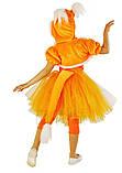Детский карнавальный костюм для девочки  Лисичка 110-140р, фото 4