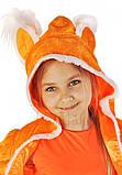 Детский карнавальный костюм для девочки  Лисичка 110-140р, фото 3