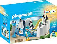 Игровой набор ПлейМобил Бассейн с Пингвинами PLAYMOBIL® Penguin Enclosure Building Set