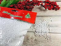 Искусственный снег в пакетике - рассыпчатый снег, набор 6шт