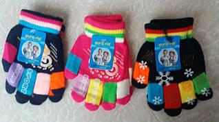 Перчатки AURA.VIA для девочек, размеры 7/10 лет, арт. 008-12 шт