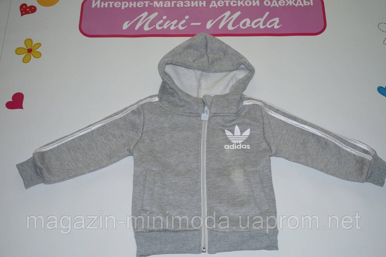 5a54dcb7 Утепленный спортивный костюм Adidas, серый: продажа, цена в Киеве ...