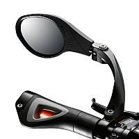 Велосипедное зеркало заднего вида в трубу руля, шарнир Hafny HF-MR081L