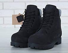 Женские зимние ботинки Timberland с натуральным мех (38, 39, 41 размеры), фото 2
