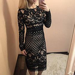 Молодёжное нарядное женское платье
