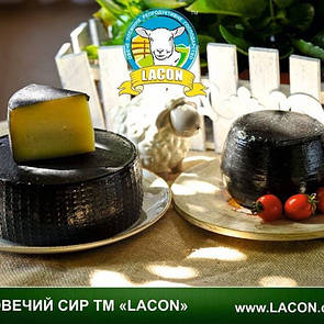 Сир овечий твердий Манчего еко-ферма Lacon 100г