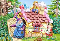 Puzzle-MAXI 25. Пряничный домик