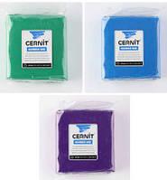 Синий Цернит 250 г полимерная глина Cernit (Бельгия) эконом упак. - основной синий 200, фото 1