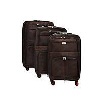 Дорожный чемоданна 4-хколесах размеры: 55 см х 40 см х 19+5 см