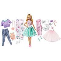 Игровой набор Барби модница с набором одежды / Barbie Glitter Coordinates Fashion Set