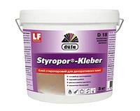Клей стиропоровый Styropor-Kleber D18 3 кг