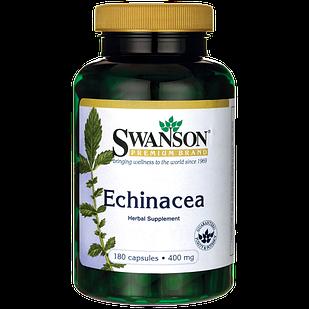 Swanson Premium Echinacea Эхинацея 400 мг 180 капс