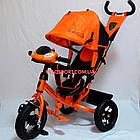 Детский трехколесный велосипед Azimut Lambortrike Light AIR оранжевый, фото 3