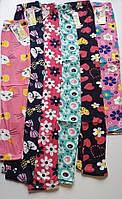 Лосины детские, хлопковые цветные лосины для девочек 2-12 лет