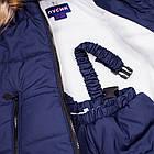 Детский зимний комбинезон Пусик Пушок 104 см (3-4 года) (Синий), фото 4
