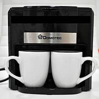 Кофеварка Domotec MS-0708 500W + две чашки - кофеварка электрическая, фото 1