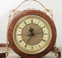 Новинка Женская оригинальная сумочка с настоящими часами