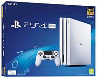PlayStation 4 Pro 1Tb Rus White (CUH-7108B)