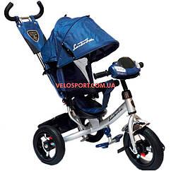 Детский трехколесный велосипед Azimut Lambortrike Light AIR синий