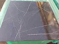 Плитка для пола, для стен Majesty 600х600мм, нескользкий напольный керамогранит под темный итальянский мрамор