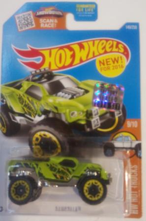 Машинка Hot Wheels 2016 Dawgzilla