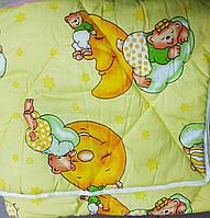 Детское яркое стеганное одеяло