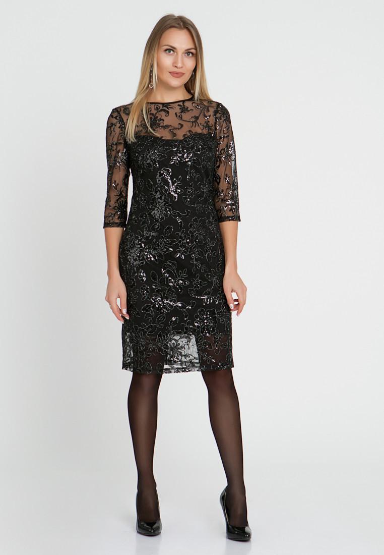Платье LiLove 510-2 44-46 черный