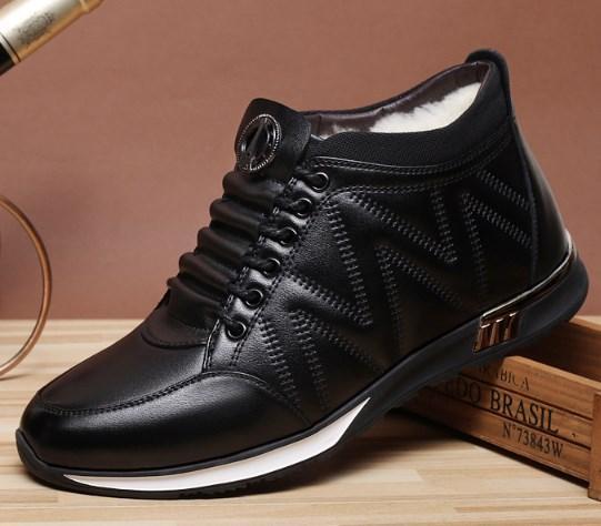 Зимние мужские кроссовки. Модель 18213