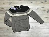 Вязаный свитер для мальчиков. 11- 16 лет.