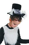 Детский карнавальный костюм для девочки Черная кошка 122-140р, фото 6