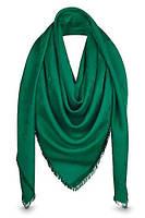 """Женский платок с люрексом Louis Vuitton  Monogram """"Green""""  (в стиле Луи Витон)"""