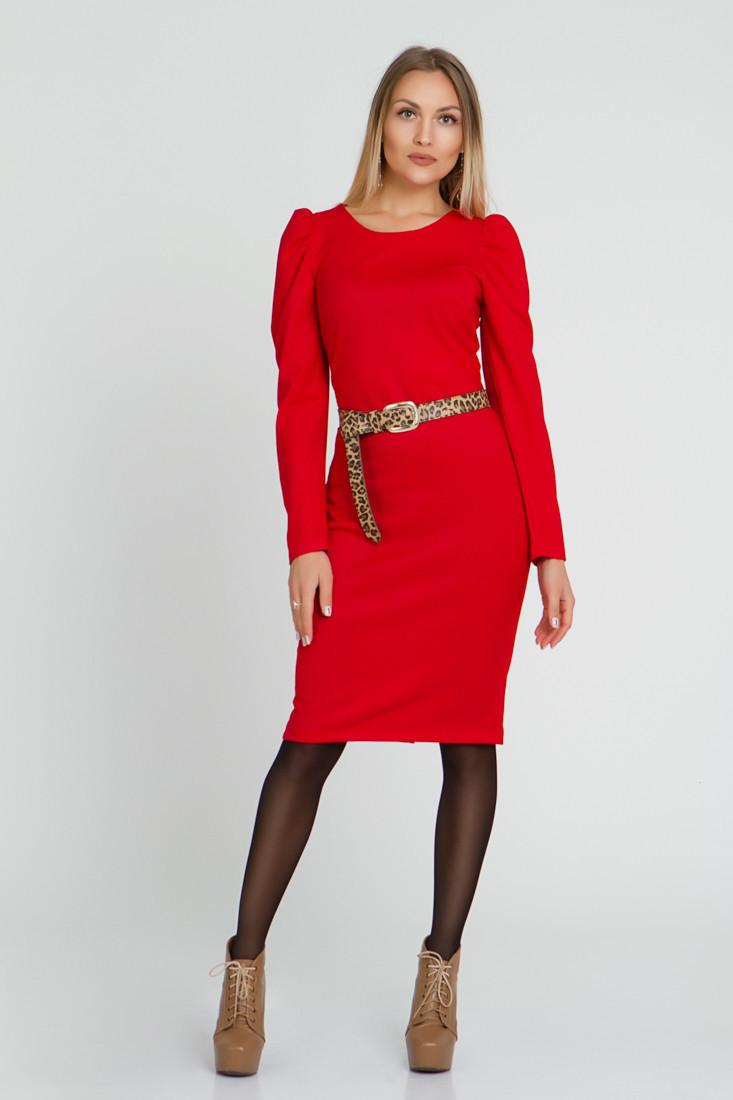 Платье LiLove 521  48-50 красный