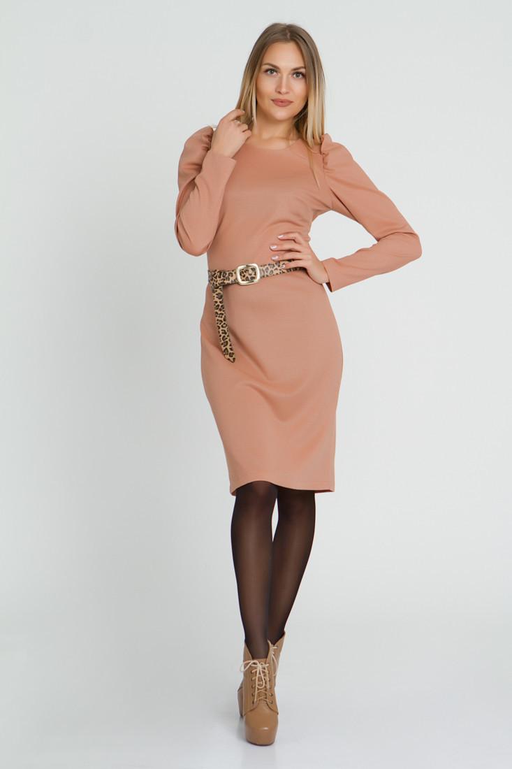 Платье LiLove 521-1 52-54 бежевый